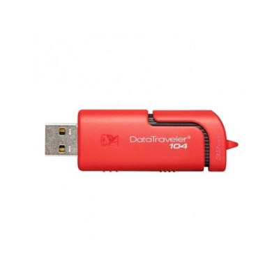PEN DRIVE KINGSTON 32 GB DT104 RED