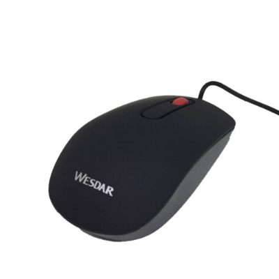 MOUSE WESDAR X18 BLACK