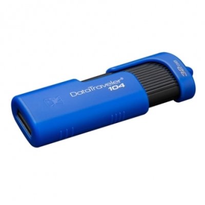 PEN DRIVE KINGSTON 32 GB DT104 BLUE