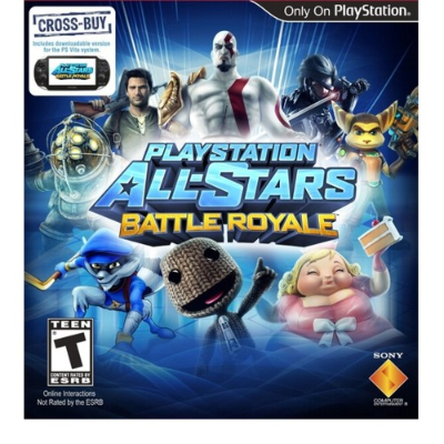PS3 JUEGO - ALL STARS BATTLE ROYALE